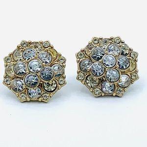 J Crew Earrings Gold Tone Post